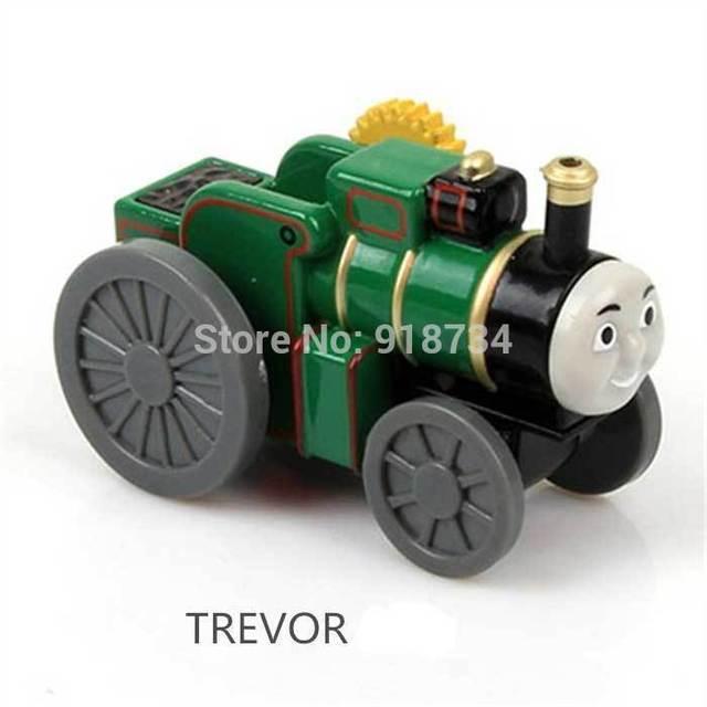 100% оригинал!!! литье под давлением томас поезд игрушки свободно --- Тревор