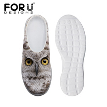 Buy Brand Unisex Women Sandals Cute Owl Cat Print Summer Flat Sandals Breathable Men Clogs Casual Slipper Summer Beach Shoes for $22.49 in AliExpress store