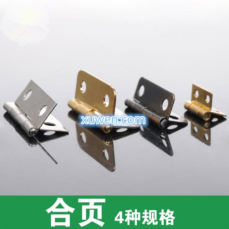 Free Shipping 10/PCS DIY production model Hinge DIY handmade accessories production Box hinge Bronze long 16MM(China (Mainland))