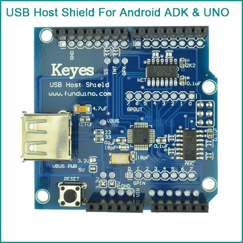 USB Host Shield Support Google Android ADK UNO MEGA Duemilanove 2560 For Arduino