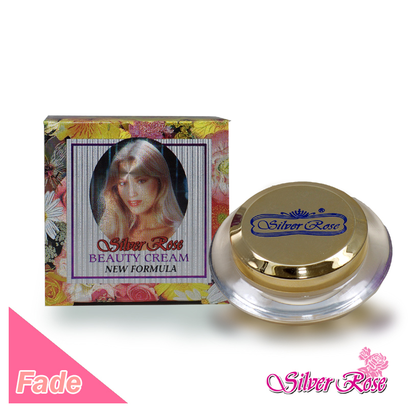 6 pieces Silver Rose - Golden Whitening Pearl Beauty Cream(Taiwan)