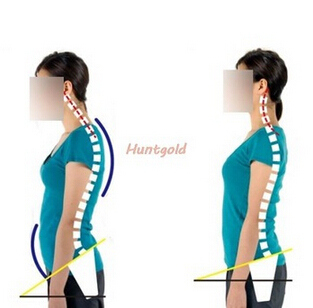 high quality flexible body posture corrector anti humpback back shoulder braces&braces&supports belt relieves posture back pains(China (Mainland))