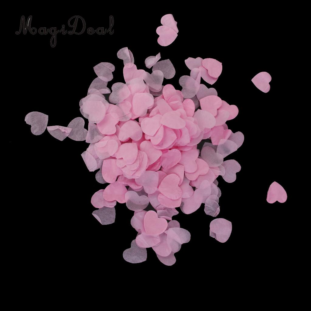 MagiDeal Cute Mini Paper Love Heart Confei Wedding Engagement Party Decor 15g/Pack for Holiday Party Table Confei Favors