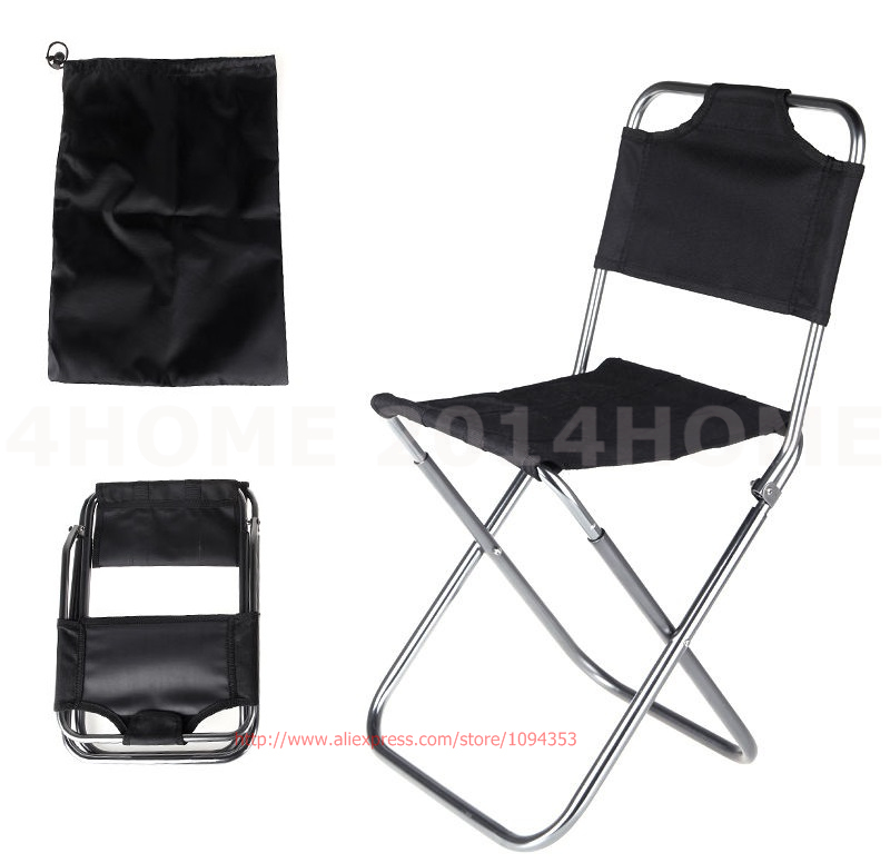 Folding Portable Stool Chair Bag Outdoor Travel Fishing