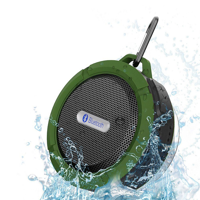 portable waterproof enceinte wireless bluetooth speaker. Black Bedroom Furniture Sets. Home Design Ideas