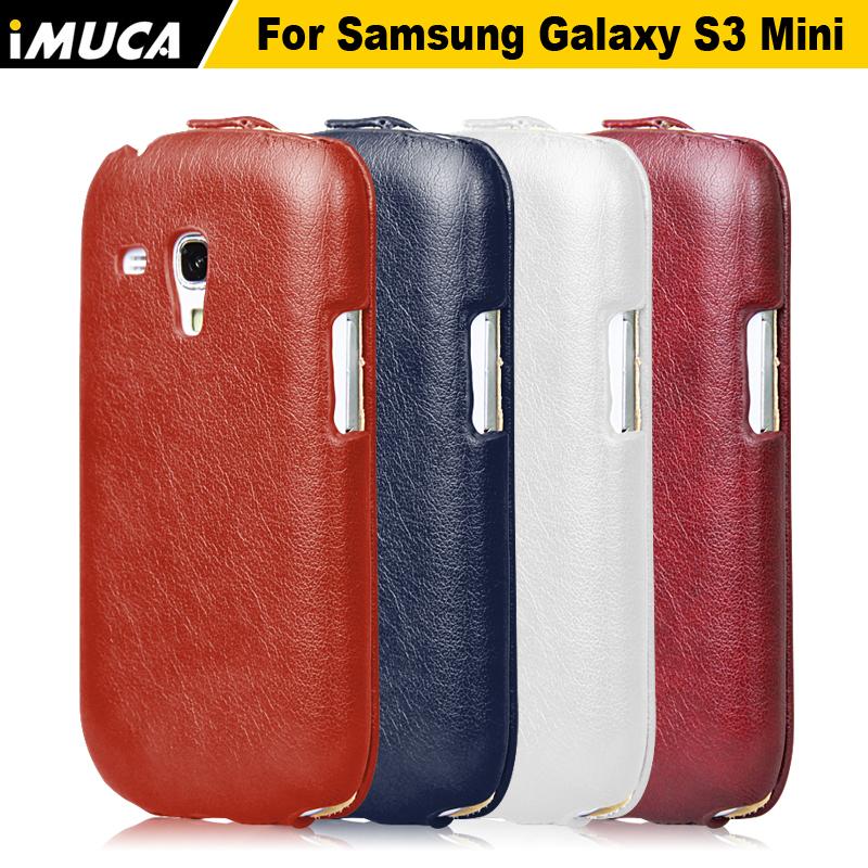 IMUCA Brand Luxury Phone Case for Samsung Galaxy S3 Mini i8190 Vertical Flip Case Cover Samsung Galaxy S3 Mini i8190(China (Mainland))