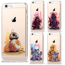 Buy RuiC Star Wars Characters KyloRen BB-8 Phone Cases iPhone 7 7Plus 6 6S Plus 5 5S SE Soft TPU Silicone Case Cover Coque Shell for $1.38 in AliExpress store