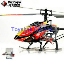Free Shipping WLtoys V913 2.4G 4ch single-propeller rc helicopter 70cm Built-In Gyro WL v913 toys r/c helikopter model(China (Mainland))