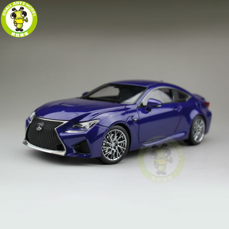1/18 Toyota Lexus RCF Diecast Model Car Suv hobby collection Gifts Blue(China (Mainland))