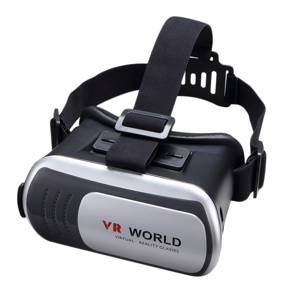 2016 New Quality 3D Virtual Reality VR Glasses Headset Box Helmet 3D Video Glass