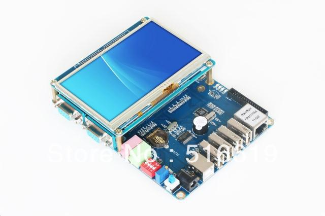 Free shipping FL2440 4.3inches ARM9 development board S3C2440(China (Mainland))