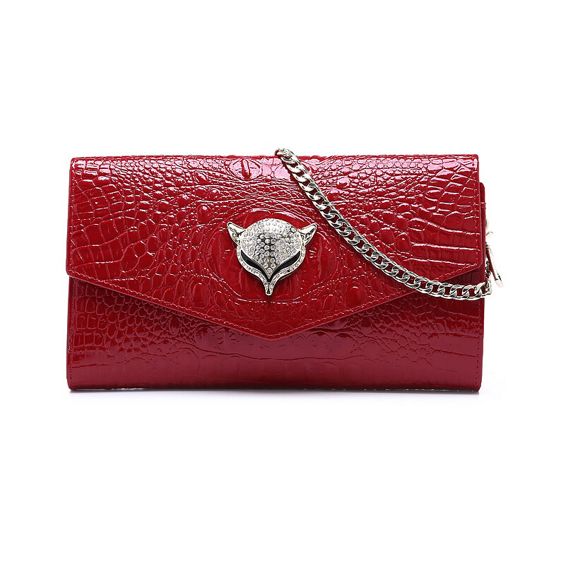 Famous Brand Women Bag Wiliamganu Fashion High Quality Geometric Leather Women Chains Handbags Women Solid Cover Messenger Bags<br><br>Aliexpress