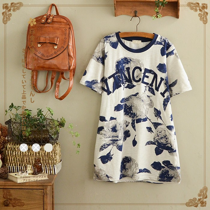 Women's Clothing With Cute Golf Applique Japan Cute Student Style