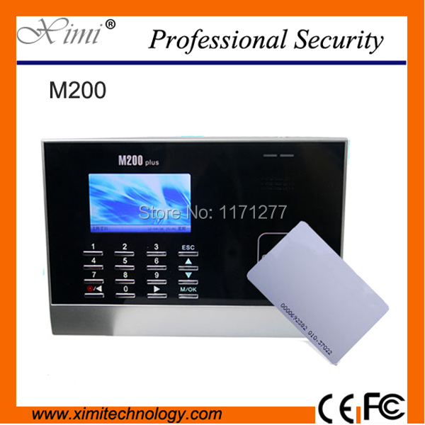 Good quality Contactless ID card time attendance device with TCP/IP 3-inch high definition and built-in WEB LINUX SERVER browser(China (Mainland))