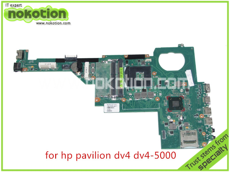 Фотография laptop motherboard for HP pavilion DV4-5000 676756-501 676756-001 HM77 GMA HD4000 DDR3