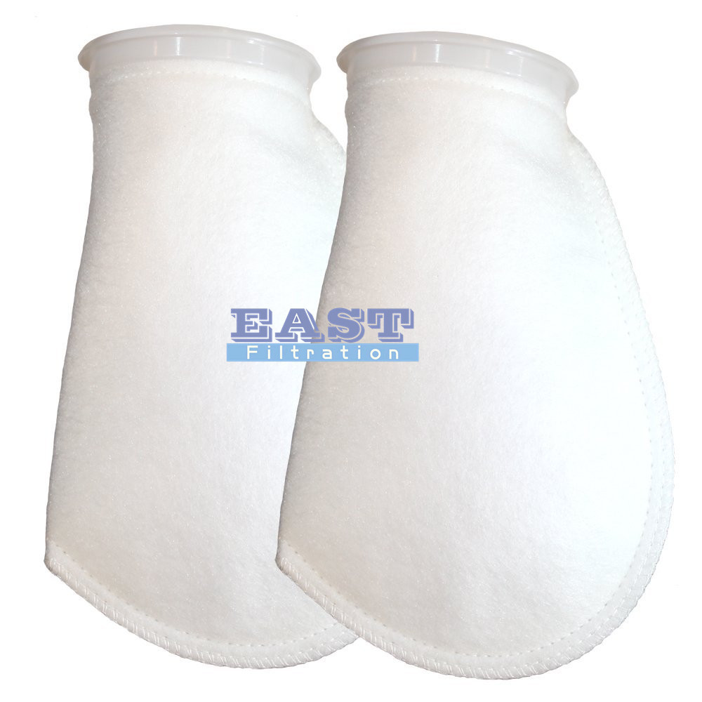 PP Filter Bag 0.5 Micron Size Dia: 101.6 mm Length: 228.6 mm(China (Mainland))