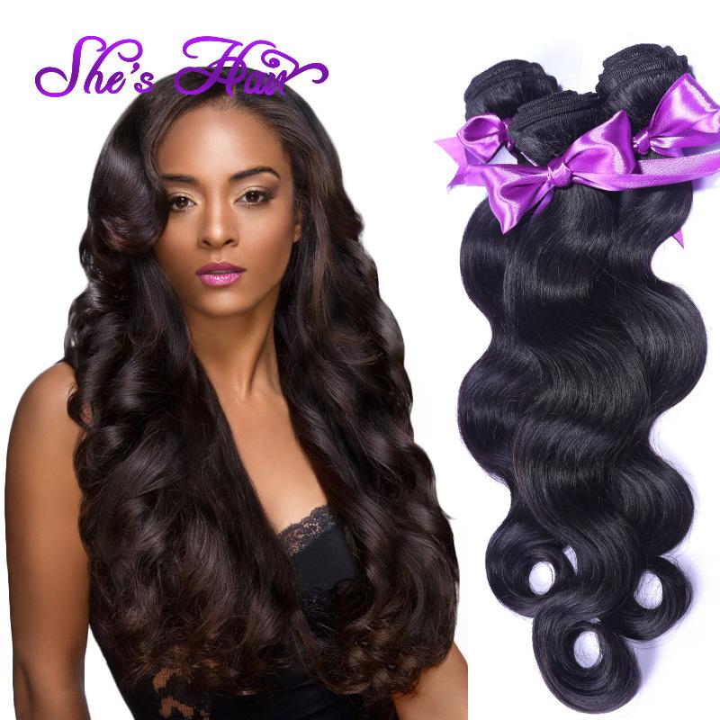 Cheap Virgin Brazilian Hair Weave 4 Bundles Brazilian Body Wave Human Hair Bundles 7A Grade Brazilian Virgin Hair Body Wave 100g(China (Mainland))