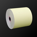 Colorful 80mm 80mm 12 rolls box Thermal receipt paper with optional yellow or pink color cash