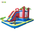 FREE SHIPPING BY SEA Popular Inflatable Obstacle Course Games Inflatable Bouncer Slide For Entertainment