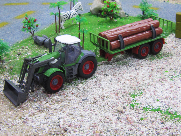 1:28 scale 6CH remote control RC truck,radio control farm tractor compact car(China (Mainland))