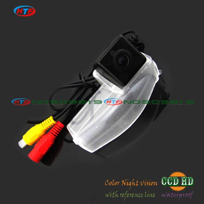 wire wireless Car parking Camera for sony ccd camera for MAZDA 2/ MAZDA 3 rear backup camera waterproof(China (Mainland))