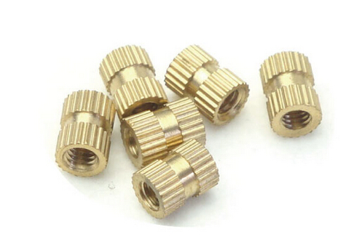 100PCS M4*16*6 MM Copper inserts Injection nut embedded parts copper knurl nut<br><br>Aliexpress