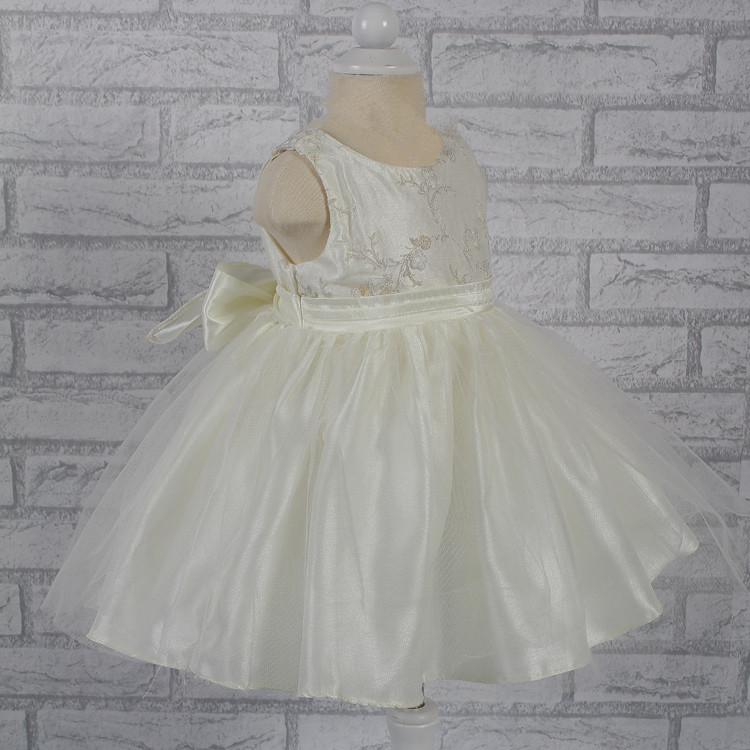 Free shipping Lace Infant Dress 2015 new arrival baby Flower girl dress Factory wholesale baby Dress For 1 year Birthday 21802R