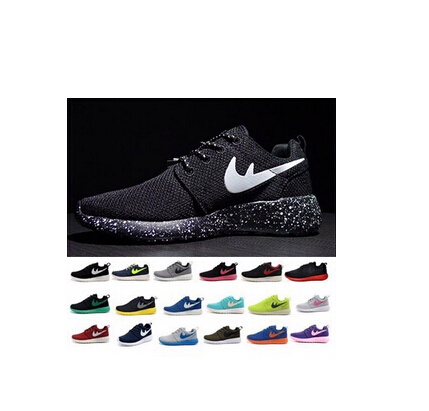 Free Drop shipping 2015 NEW roshe run running shoes, sneakers athletic sport fashion walking shoes EUR Men and women size 36-44(China (Mainland))