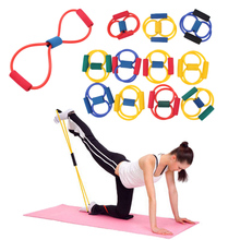 Buy Yoga Body Building Pilates Elastic Resistance Training Bands Tube Expander Workout Exercise Fitness Equipment Tool Tension Women for $1.34 in AliExpress store