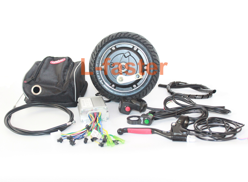 8 INCH ELECTRIC SCOOTER BRUSHLESS HUB MOTOR 36V 350W MOTOR KIT FOR TRIDE TRIKKE BIKE HOMEMADE MOBILITY SCOOTER INSTEAD OF WALK(China (Mainland))