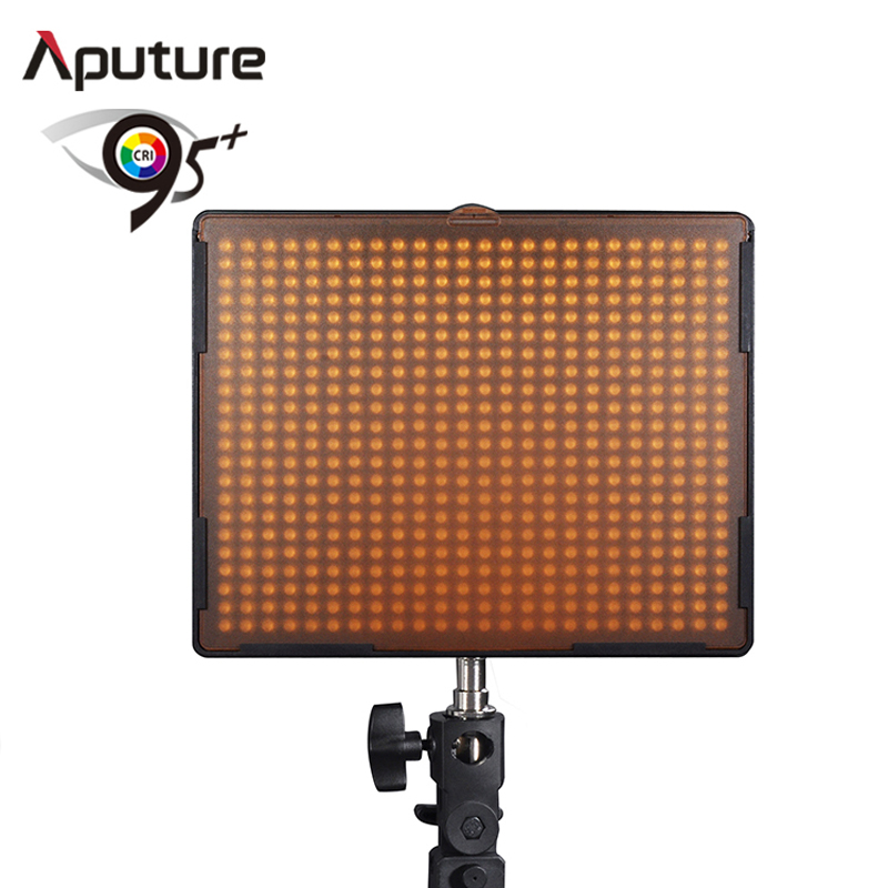 Aputure LED Camera Video Camcorder Lamp Light for Nikon Canon SLR CRI95+ H528W LED dslr camera light(China (Mainland))