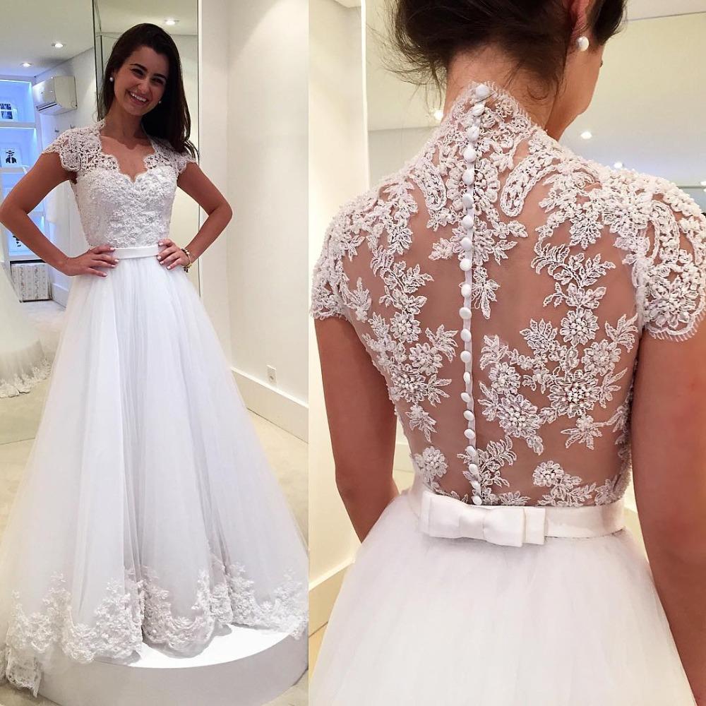sheer top wedding dress photo 4 sheer top wedding dress Sheer top wedding dress Photo 4