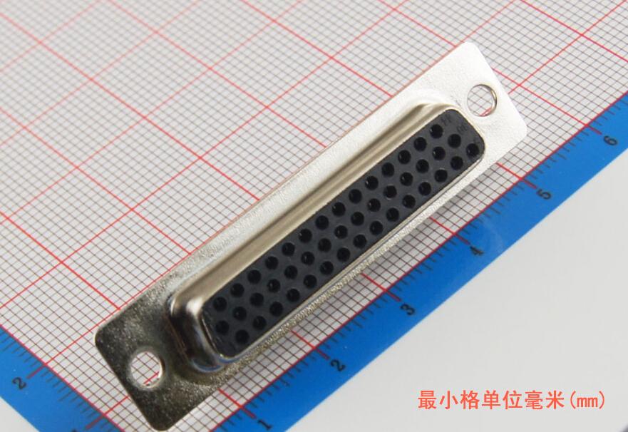 50 шт Новый D-Sub с 44 пиновый припоя типа Plug адаптер Разъем 3 строки последовательный порт Разъемы