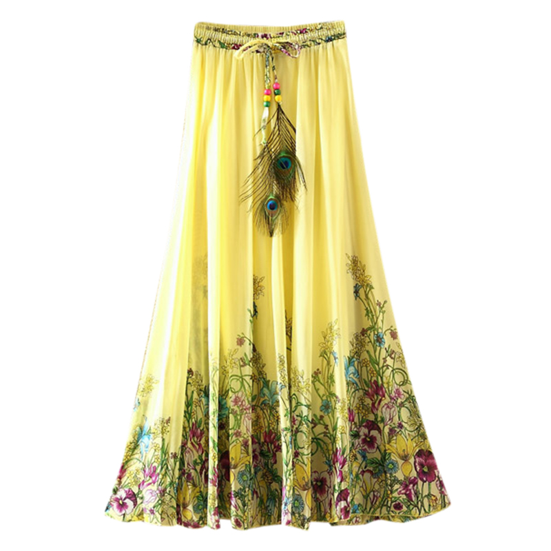 Couple, excellent long bohemian skirt
