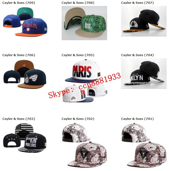 2015 New Arrival Cayler&Sons Snapback Hats Discount Hip Hop Baseball Caps Cheap Street Rock Sport Headwears(China (Mainland))