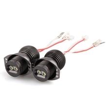 2pcs H8 2 CREE Q5 LED Angel Eyes Light Lamp for BMW E90 E91