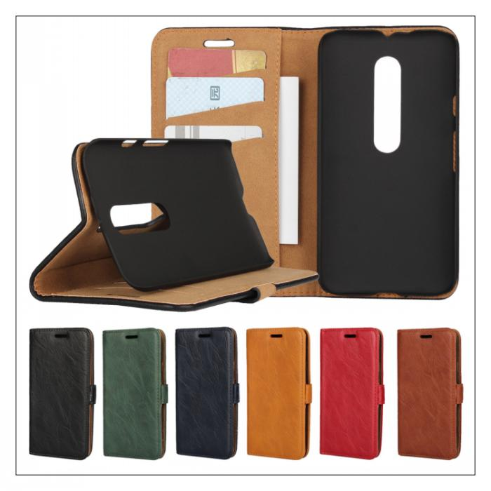For Motorola Moto G3 Wrinkle Leather Mobile Phone Bag Fundas Wallet Case For Motorola Moto G3 Phone Accessory Back Cover Coque(China (Mainland))