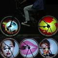 64 RGB LEDs Cycle Bike Bicycle Smart Light 2016 New 1 Set Colorful Wheel Spoke Light