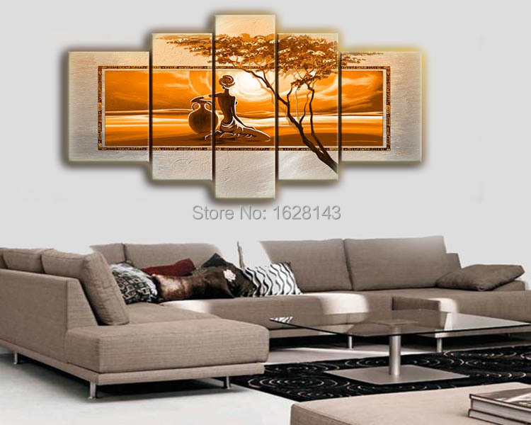 painting painted on canvas wall pictures for living room decoration