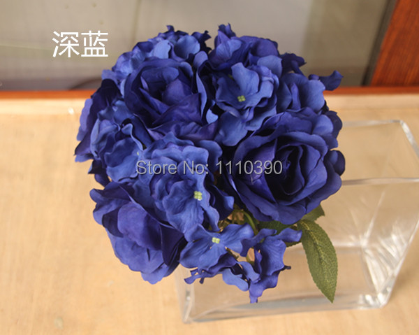 Homemade Wedding Bouquets Silk Flowers : Cm silk flower bouquets artificial wedding