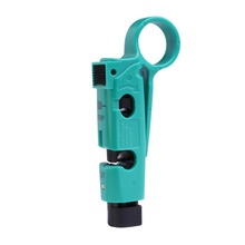 Hot Sale Green Coaxial Connector RG6 Connector Wire Stripper Multi-functional Tool Cable Stripper Network Stripper Free Ship(China (Mainland))