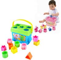 Baby's First Blocks Pairing shape Blocks Model Plastic Educational Free Shipping