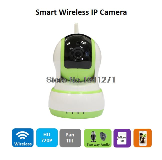 Wireless IP Camera PTZ Dome Wifi Camera family defender Network HD Cctv Support P2P ONVIF2.0 H.264  Android Baby Monitor
