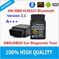 Hot 2016 Best Quality Hot Auto Car ELM327 HH Bluetooth OBD 2 OBD II Diagnostic Scan