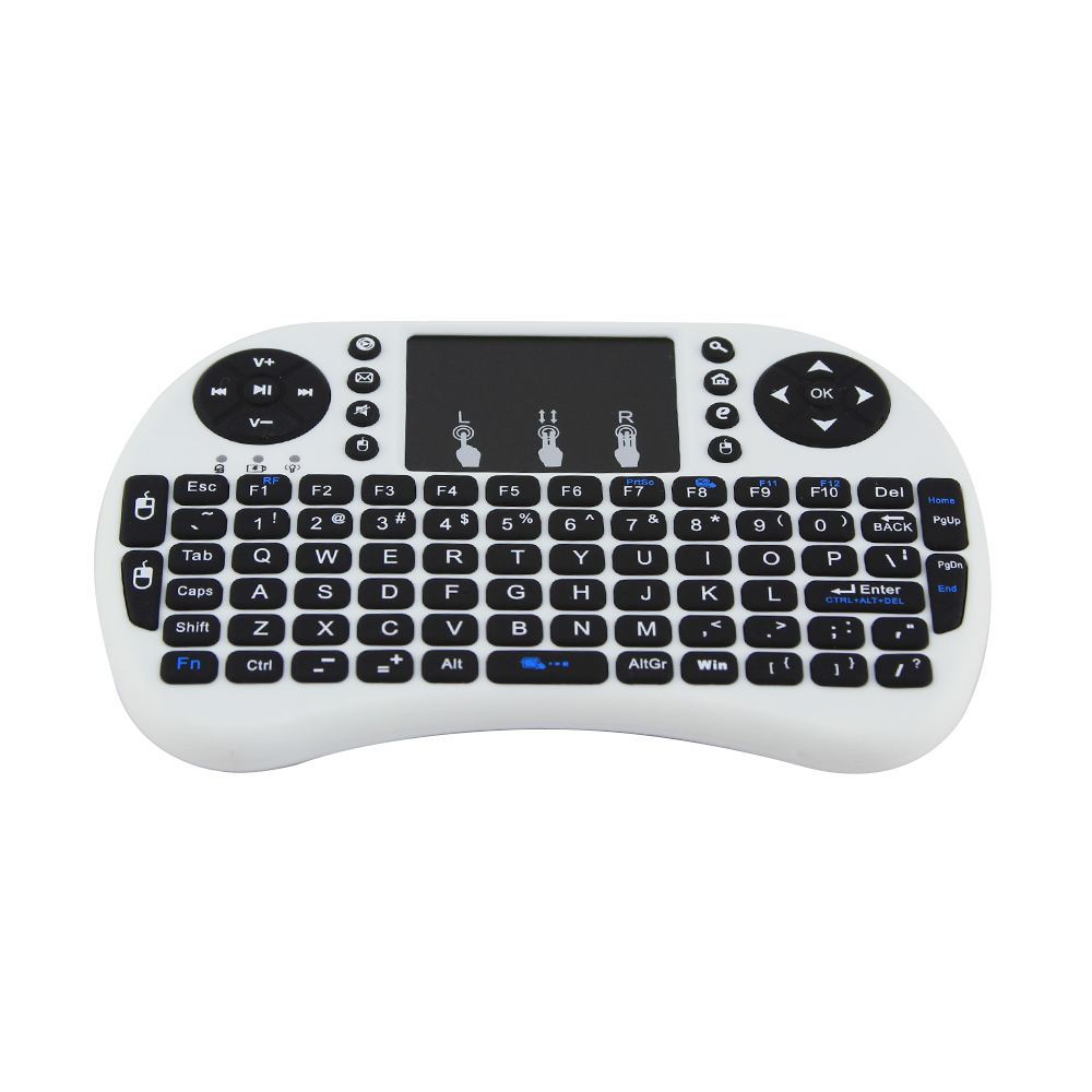 Original I8 2.4G Mini USB Wireless Keyboard Touchpad Air Mouse Mause Fly Mouse Remote Control for Android Windows TV Box Phone(China (Mainland))