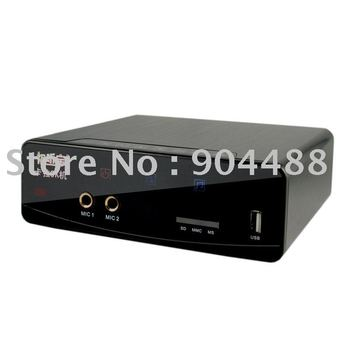 Free shipping ,50000 songs ,Popular Video Formats HD-K8 HDD karaoke Player  with 2TB  hard disk driver