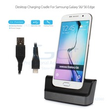 Dock Charger Adapter for Samsung Galaxy S6 Edge SM-G925 Charging Dock Station + Micro USB Cable(China (Mainland))