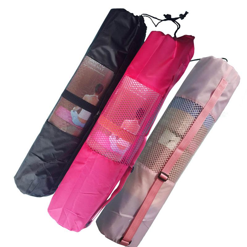 HOT SALE! 8MM Mesh Yoga Mat Bag High Quality Nylon Gym