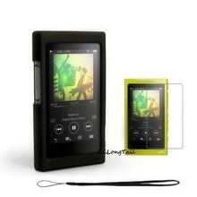 Buy Silicone Case Sony Walkman NW A35 A36 A37 Cover Screen Protector Starp Sony A35HN A36HNM A37HN 16gb 32gb 64gb mp3 player for $7.89 in AliExpress store