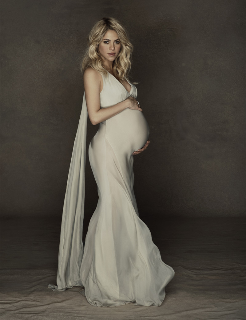 Maternity Mermaid Wedding Dresses : Custom made v neck sexy mermaid wedding dress white